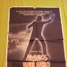 Cine: ATRAPADOS POR EL MIEDO POSTER ORIGINAL 70X100. Lote 202090910