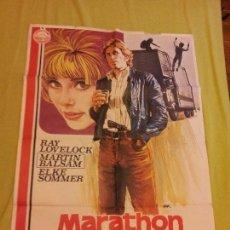 Cine: MARATHON SUICIDA. RAY LOVELOCK, MARTIN BALSAM, ELKE SOMMER. AÑO 1977. Lote 69012993