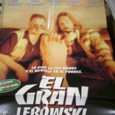 Cinema: PÓSTER DE CINE ORIGINAL 70X100CM EL GRAN LEBOWSKI. Lote 208226242