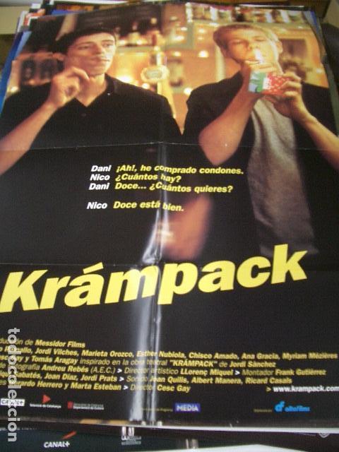 PÓSTER DE CINE ORIGINAL 70X100CM KRÁMPACK (Cine - Posters y Carteles - Acción)