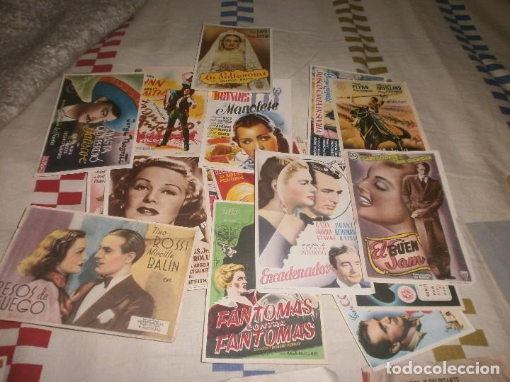 LOTE 93 PROGRAMAS DE MANO CINE AÑOS 70 - NEGRETE - GARY COOPER - BUFFALO BILL (Cine - Posters y Carteles - Clasico Español)