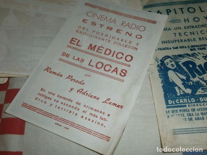 Cine: LOTE 93 PROGRAMAS DE MANO CINE AÑOS 70 - NEGRETE - GARY COOPER - BUFFALO BILL - Foto 5 - 69749801