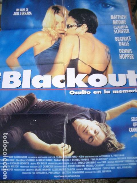 PÓSTER ORIGINAL 70X100CM BLACKOUT (Cine - Posters y Carteles - Suspense)