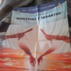 Cine: MONTOYAS Y TARANTOS. POSTER CARTEL ORIGINAL. 100 X 70. DOBLADO. BUEN ESTADO. RARO. Lote 218421155