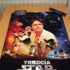 Cine - Cartel (poster) trilogía Star wars (La guerra de las galaxias) 2004 - 69846263