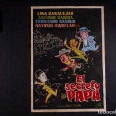 Cine: EL SECRETO DE PAPA 1961. Lote 69990121