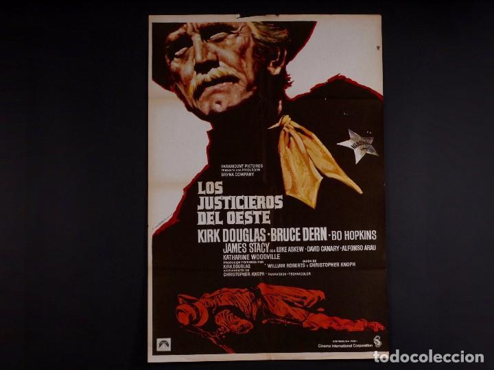 LOS JUSTICIEROS DEL OESTE 1975 (Cine - Posters y Carteles - Westerns)