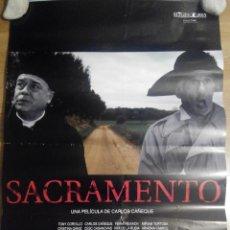 Cine: SACRAMENTO - APROX 70X100 CARTEL ORIGINAL CINE (L36). Lote 70260721