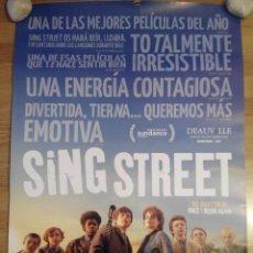 Cine: SING STREET - APROX 70X100 CARTEL ORIGINAL CINE (L37). Lote 70410513