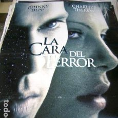 Cine: PÓSTER ORIGINAL DE 100X70CM LA CARA DEL TERROR. Lote 71049153