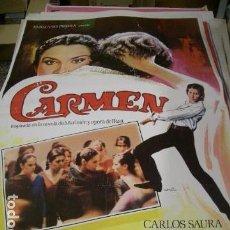 Cine: PÓSTER DE CINE ORIGINAL DE 100X70CM CARMEN. Lote 71068501