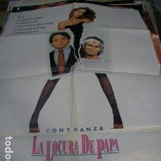Cine: PÓSTER ORIGINAL DE 100X70CM LA LOCURA DE PAPÁ. Lote 71213865