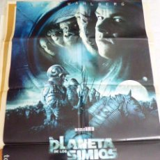 Cine: PLANETA DE LOS SIMIOS. CARTEL DE CINE -MOVIE POSTER. 100X70 CM. Lote 71245763