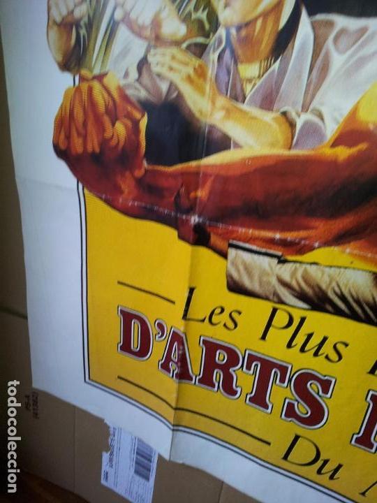 Cine: ENORME CARTEL 1,60 X 1,20 ARTES MARCIALES -BRUCE LEE-JEAN CLAUDE VANDAMME-JACKIE CHAN-ROTHROCK-1990 - Foto 9 - 71460447