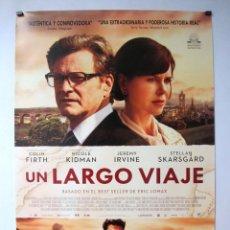Cine: UN LARGO VIAJE. CARTEL ORIGINAL DE LA PELICULA 70 X 100 CMS. Lote 71473187