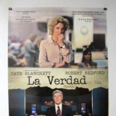 Cine: LA VERDAD. CARTEL ORIGINAL DE LA PELICULA 70 X 100 CMS. Lote 71473327