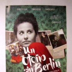 Cine: UN OTOÑO SIN BERLÍN. CARTEL ORIGINAL DE LA PELICULA 70 X 100 CMS. Lote 71473331