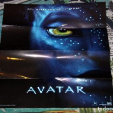 Cine: PÓSTER AVATAR - MEDIDAS 46 X 36 - CARTULINA EN BRILLO - 20TH CENTURY FOX. Lote 64411731