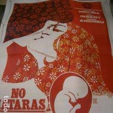 Cine: POSTER ORIGINAL DE 70X100CM NO MATARÁS. Lote 157886102