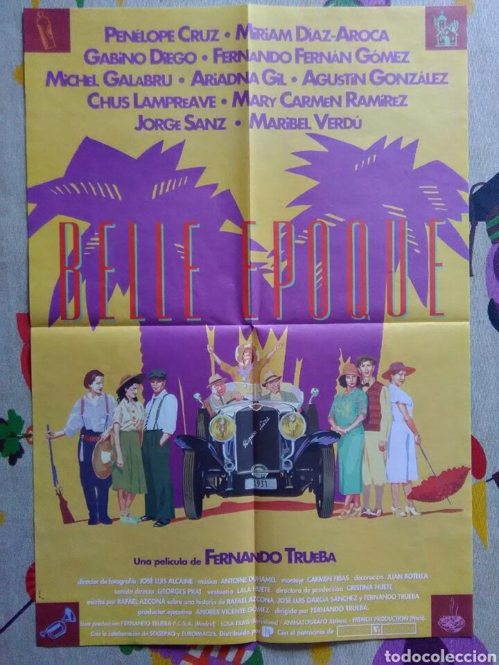 PÓSTER BELLE EPOQUE (Cine - Posters y Carteles - Clasico Español)