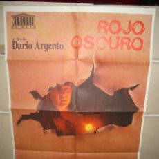 Cine: ROJO OSCURO DARIO ARGENTO POSTER ORIGINAL 70X100 Q. Lote 72071907