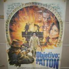Cine: OBJETIVO PATTON POSTER ORIGINAL 70X100 YY(1479). Lote 72073579