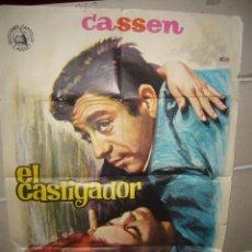 Cine: EL CASTIGADOR CASSEN POSTER ORIGINAL 70X100 YY(1484). Lote 72086575