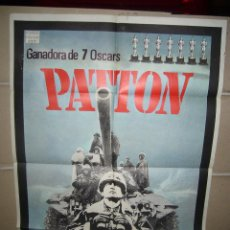 Cine: PATTON GEORGE C.SCOTT POSTER ORIGINAL 70X100 Q. Lote 72086783