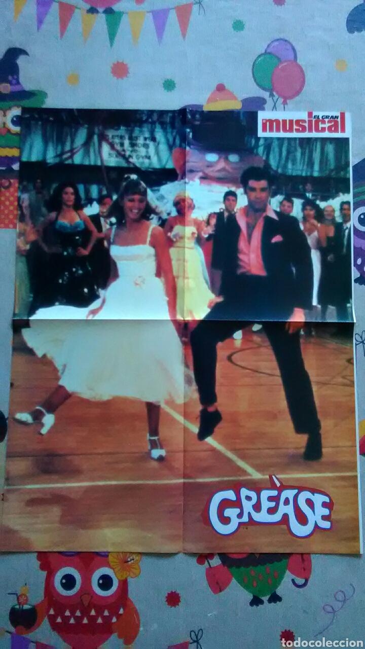PÓSTER DE LA PELÍCULA GREASE - GREASE (Cine - Posters y Carteles - Musicales)