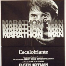 Cine: MARATHON MAN. DUSTIN HOFFMAN. CARTEL ORIGINAL 1976. 100X70. Lote 72349291
