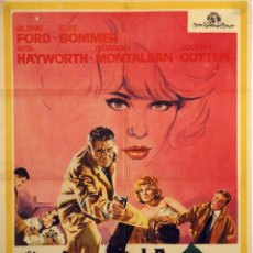 Cine: LA TRAMPA DEL DINERO. GLENN FORD. CARTEL ORIGINAL 1965. 70X100. Lote 72671159
