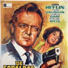 Cine: DE ESPALDAS A SCOTLAND YARD. CARTEL ORIGINAL 1967. 70X100. Lote 72674675
