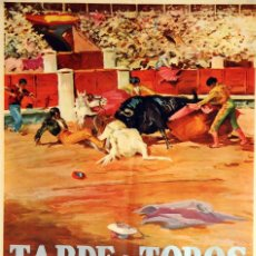 Cine: TARDE DE TOROS. LADISLAO VAJDA. CARTEL ORIGINAL 1971. 70X100. Lote 72683307