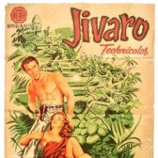 Cine: CARTEL POSTER ORIGINAL *JIVARO* FERNANDO LAMAS RHONDA FLEMING. EDWARD LUDWIG - JANO. Lote 72702107