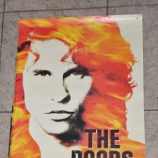 Cine: POSTER THE DOORS AÑO 1990 LA LEYENDA UN FILM DE OLIVER STONE 68 X 48 ORIGINAL, NO COPIA.. Lote 72704979