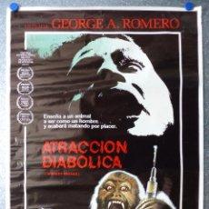 Cine: POSTER - ATRACCION DIABOLICA - GEORGE A. ROMERO. Lote 72727483