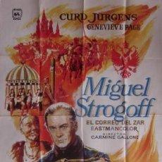 Cine: POSTER PELICULA MIGUEL STROGOFF. Lote 72767099