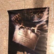 Cine: CARTEL PREESTRENO HARRY POTTER Y LA PIEDRA FILOSOFAL. Lote 72829259