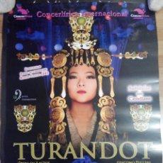 Cine: TURANDONT - APROX 70X100 CARTEL ORIGINAL TEATRO (L37). Lote 72928427