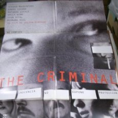 Cine: PÓSTER ORIGINAL 70X100CM THE CRIMINAL. Lote 72961663