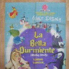 Cine: CARTEL CINE, LA BELLA DURMIENTE, WALT DISNEY, 1959, C982. Lote 73022463