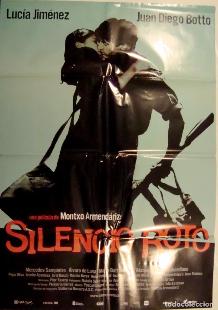 Resultado de imagen de silencio roto 2001 cartel