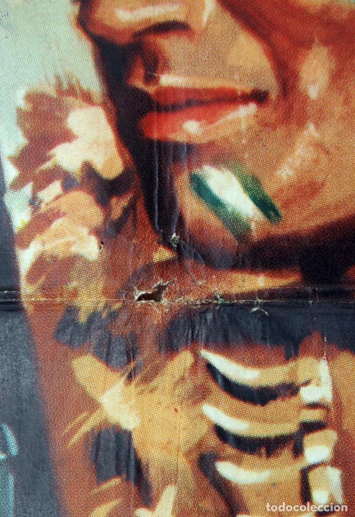 Cine: EL SALVAJE. CHARLTON HESTON. Cartel original 1964. 100x70 - Foto 3 - 73215011