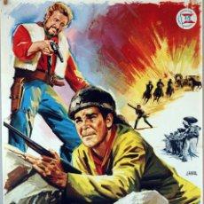 Cine: HOMBRES DESESPERADOS. CARTEL ORIGINAL DE 1967. 100X70. Lote 73408271