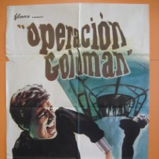 Cine: CARTEL - POSTER CINE (70X 100 CM) -OPERACIÓN GOLDMAN- ANTHONY ASHLEY - AÑO1966 - .. R- 4457. Lote 73446855
