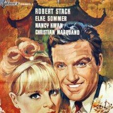 Cine: LOS CORROMPIDOS. ROBERT STACK-ELKE SOMMER. CARTEL ORIGINAL 1967. 70X100. Lote 73521123