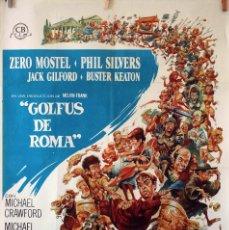 Cine: GOLFUS DE ROMA DE RICHARD LESTER. CARTEL ORIGINAL DE 1967. 100X70. Lote 73567071