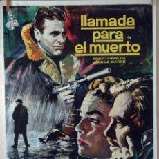 Cine: LLAMADA PARA EL MUERTO. JAMES MASON-SIMONE SIGNORET. CARTEL ORIGINAL 100X70. Lote 73576299