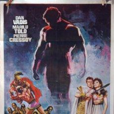 Cine: EL TRIUNFO DE HÉRCULES. ALBERTO DE MARTINO. CARTEL ORIGINAL DE 1972. 100X70. Lote 73580491