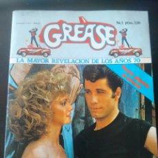Cine: REVISTA 1978 CON POSTER GIGANTE 84X67CM PELICULA GREASE. Lote 73922271